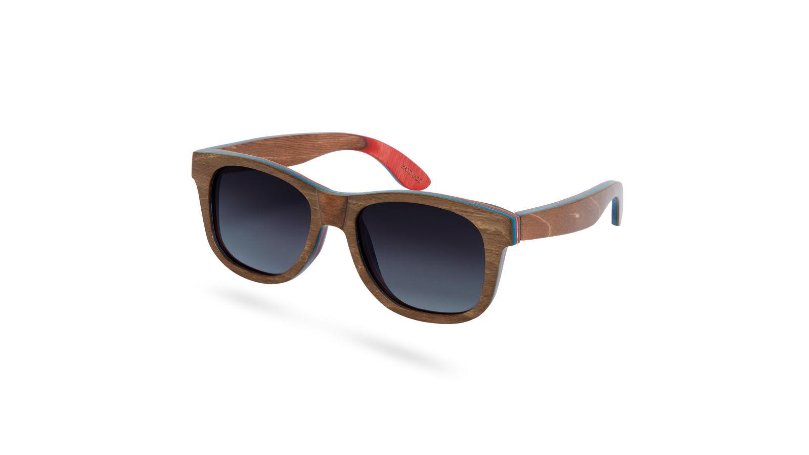 Brune & Grå Polariserede Solbriller i Finer   Fri fragt   Paul Riley