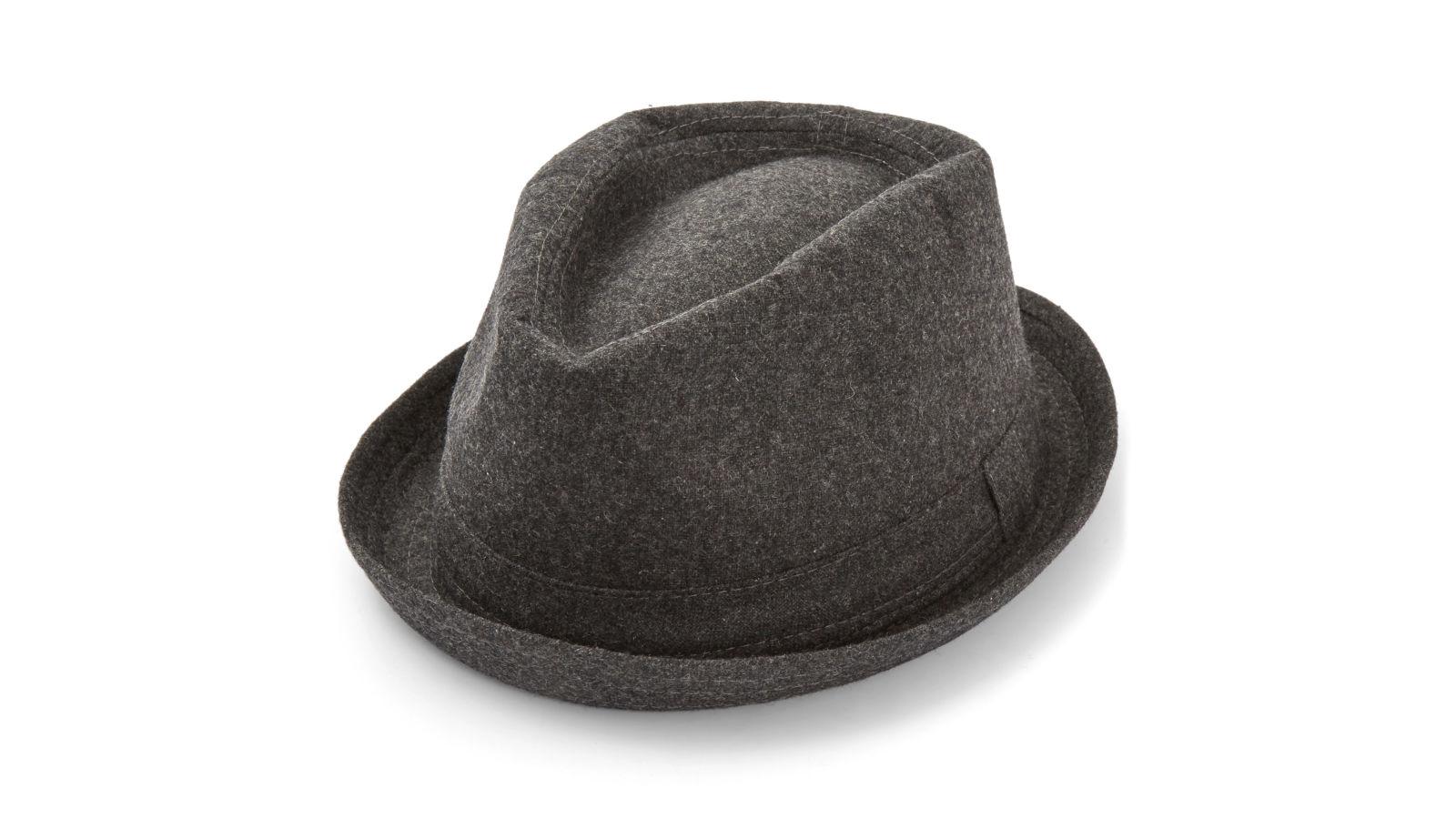 Grå Trilby-Hatt  8b1a7c484b0b9