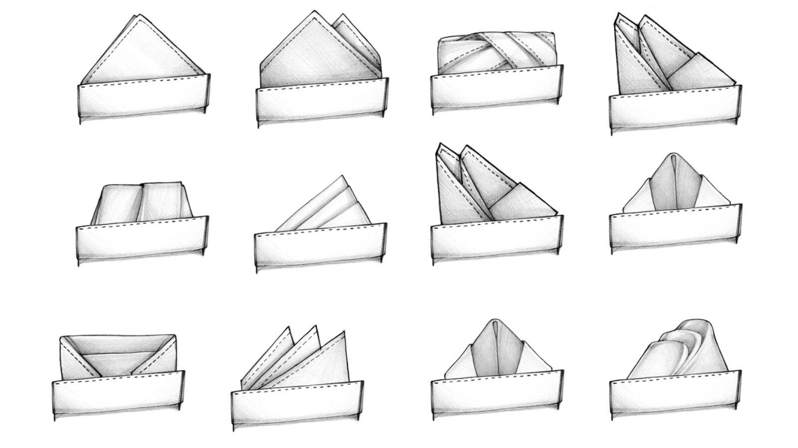 52 Ways to Fold a Pocket Square