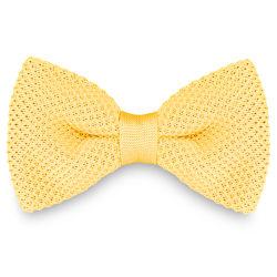 Smoke Grey Knitted Bow Tie Trendhim