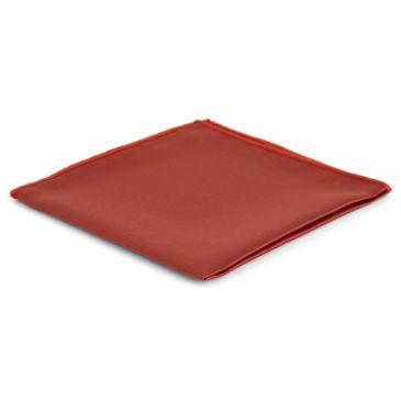Red Simple Pocket Square Trendhim