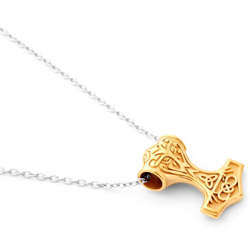 Thors XXL Hammer Necklace Trendhim