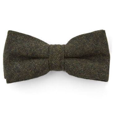 Dark Green Whimsical Polyester Pre-Tied Bow Tie Trendhim