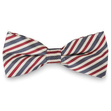 Striped Oldschool Even Binder Bow Tie Trendhim