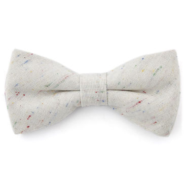 Newspaper Linen Bow Tie Trendhim