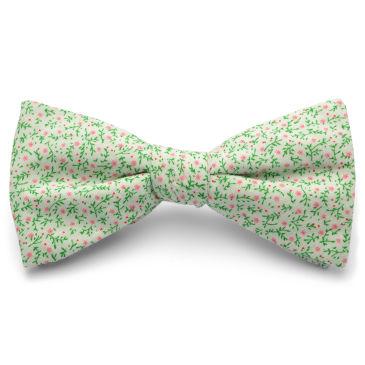Red Cotton Self Tie Reversible Bow Tie Trendhim