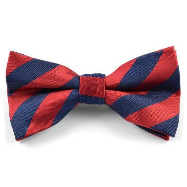 Striped Old School Bow Tie Trendhim