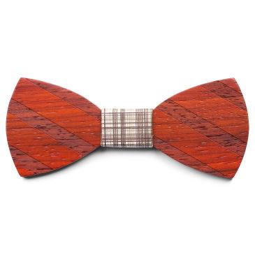 Striped Silk Bow Tie Trendhim