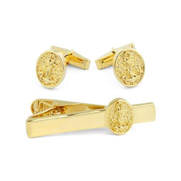 Short Danish Tribute 925s Gold Tie Clip Northern Jewelry