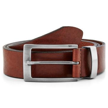 Warm Brown Leather Belt Bosswik