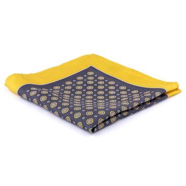 Autumn Yellow Simple Pocket Square Trendhim