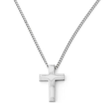 Criss Cross Black Leather Necklace Trendhim