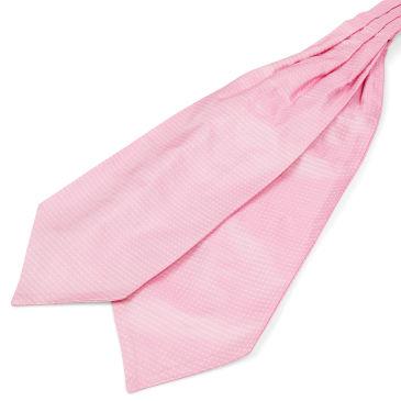 Pastel Blue Polka Dot Silk Cravat Trendhim