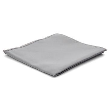 Light Grey Basic Pocket Square Trendhim