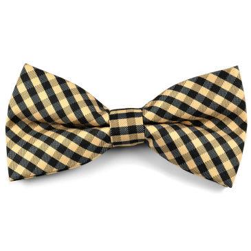 Cream Paisley Bow Tie Trendhim