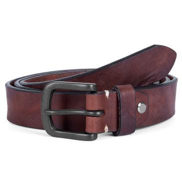 Cognac Tan Leather Belt Bosswik