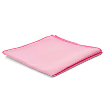 Salmon Pink Simple Pocket Square Trendhim