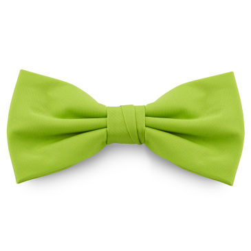 Mint Green Basic Pointy Bow Tie Trendhim