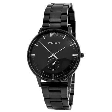 Čierne hodinky Nicholas  b20e6c93931