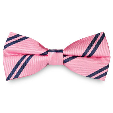 Navy Dotted Bow Tie Trendhim