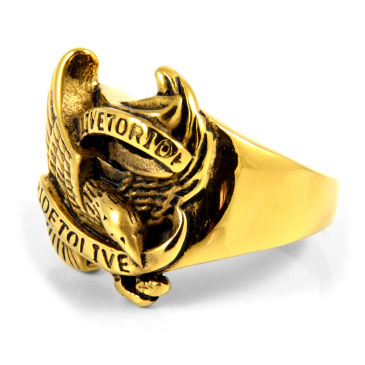 Golden Eagle Steel Ring Steelcz