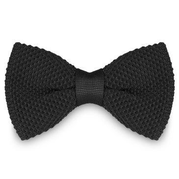 Black & White Striped Bow Tie Trendhim