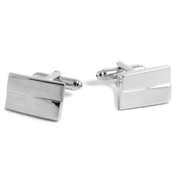 Gold Striped Cufflinks Trendhim