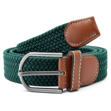 Reddish-Brown Crocodile Pattern Belt Trendhim