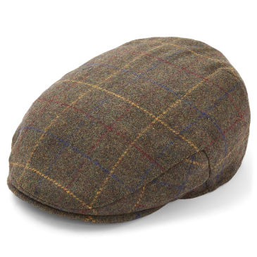 Vintage Tartan Flat Cap Major Wear