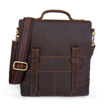 Sac en cuir marron Massim