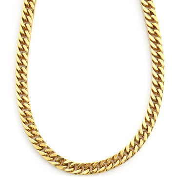 Silver- & Gold-Toned Link Necklace Trendhim