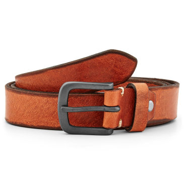 Cognac Tan Leather Belt Bosswik
