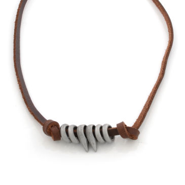 Neanderthal Leather Necklace Trendhim