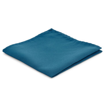 Baby Blue Simple Pocket Square Trendhim