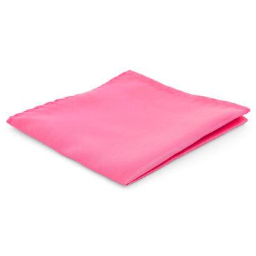 Screaming Pink Simple Pocket Square Trendhim