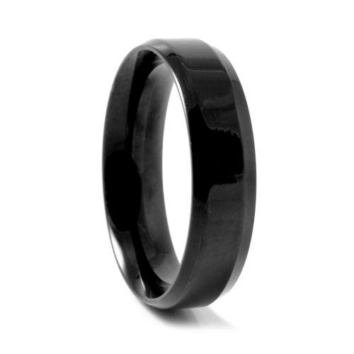 Μαύρο Vertigo Steel Δαχτυλίδι c63e53ebf09