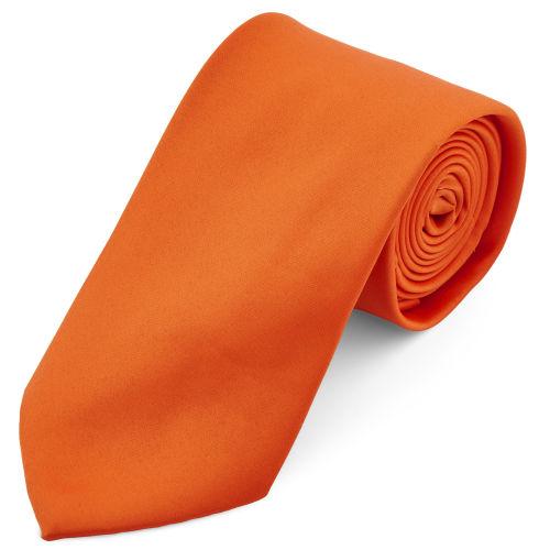 491adcc03a3 Zářivě oranžová kravata 8 cm Basic
