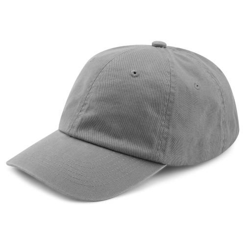 2fd21ab5a0ae1 Gorra de algodón gris oscuro