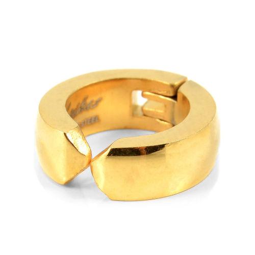 Κλασσικό Χρυσαφί Σκουλαρίκι Clip On 5b4f787a1d6