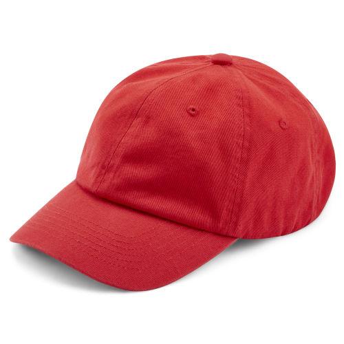 Gorra de algodón en rojo vivo 8a3d1a1abd8