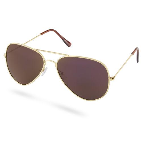 Arany és kék színű polarizált pilóta napszemüveg. Paul Riley. 5 990 Ft.  Lila lencsés e865664cef