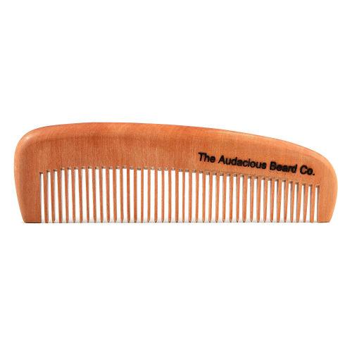 Nanmu Facial Hair Ξύλινη Χτένα 920d380cb54