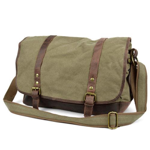 277d02c483e1 Sanmu Green Messenger Bag