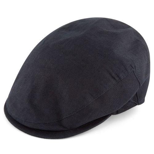 2a98772fa64b8 Lory Dark Navy Flat Cap