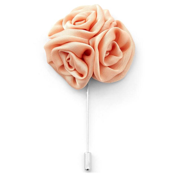 Καρφίτσα Πέτου Coral Rose Flower  e239055d3b9