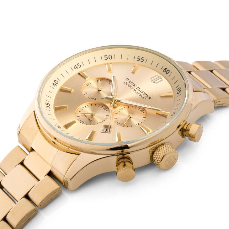 577a607de5d5 Reloj metálico de color dorado Troika