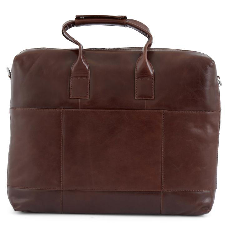 Grand sac bandoulière marron clair Jasper