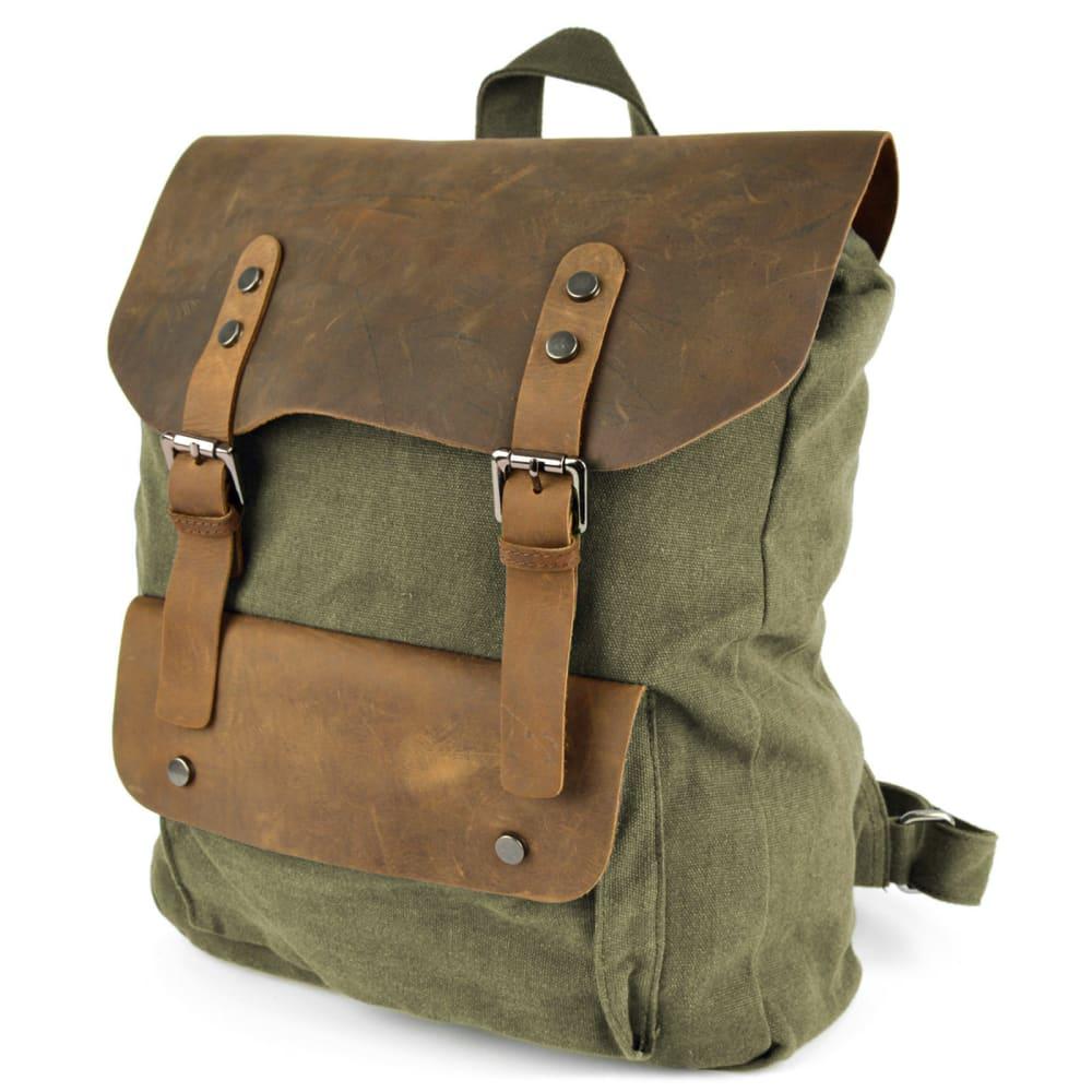e6de69cca Hnedý plátený batoh Pull-up | Doručenie zdarma | Delton Bags