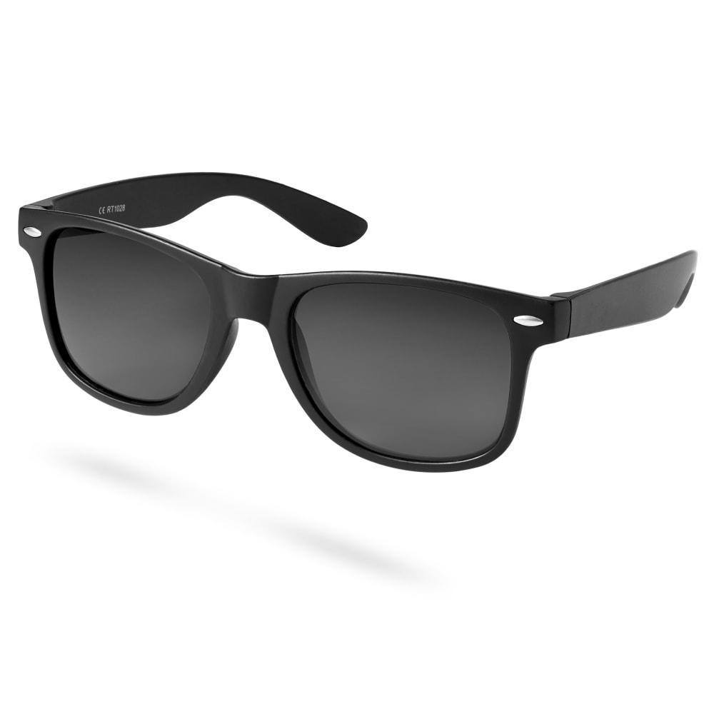 Glänsande Svarta Solglasögon