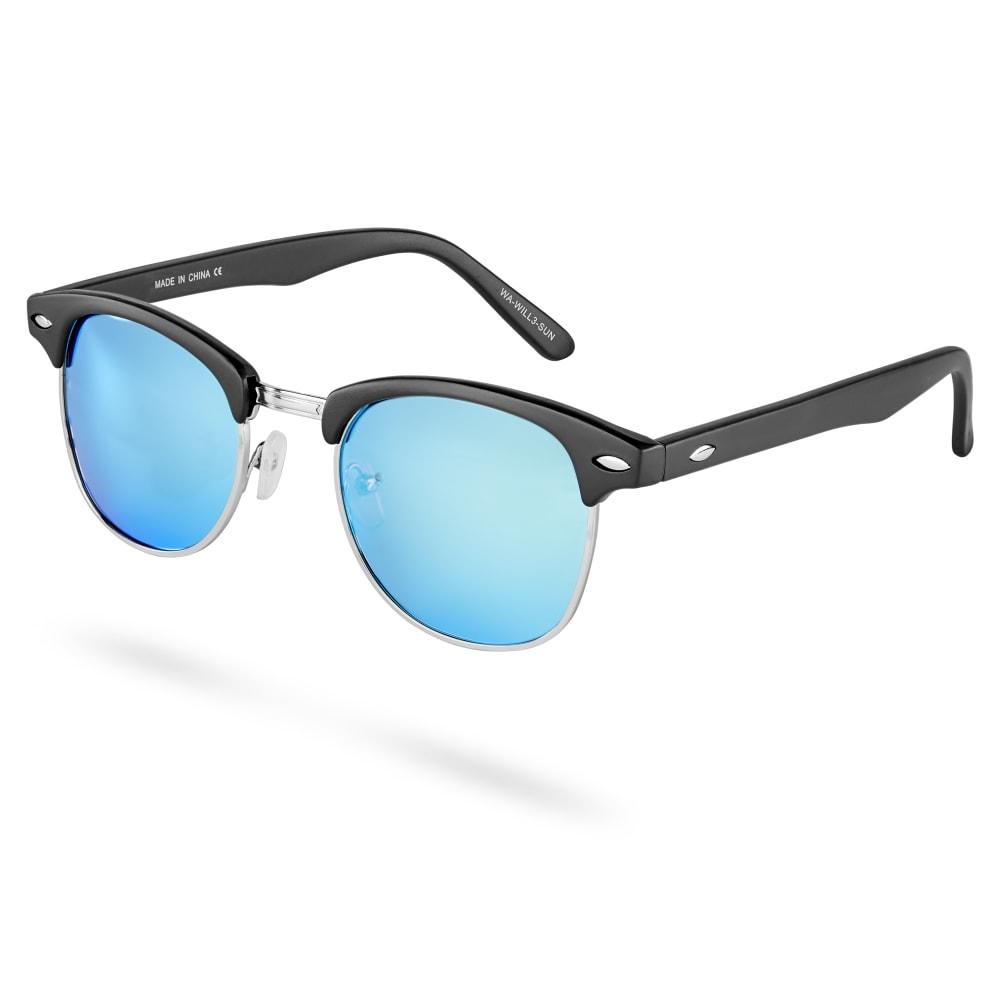 acheter en ligne d0b2a 7f190 Lunettes de soleil bleu miroir Will